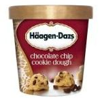 Häagen-Dazs - All Natural Chocolate Chip Cookie Dough 0074570084067  / UPC 074570084067