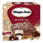 Häagen-Dazs - Brownie Bar 0074570650699  / UPC 074570650699