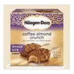 Häagen-Dazs - Ice Cream Bars Coffee & Almond Crunch 0074570651481  / UPC 074570651481