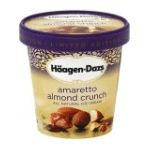 Häagen-Dazs - Amaretto Almond Crunch Ice Cream 0074570651580  / UPC 074570651580