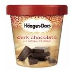 Häagen-Dazs - Dark Chocolate 0074570651733  / UPC 074570651733