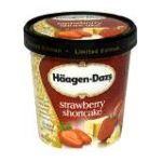 Häagen-Dazs - All Natural Strawberry Shortcake 0074570910106  / UPC 074570910106