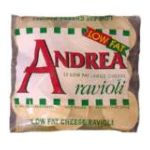 Andrea - Cheese Ravioli Low Fat 13 0074665277985  / UPC 074665277985