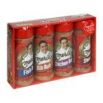 Emeril's -  Rubs Variety Pack Of Fish Rib Chicken And Steak Rubs Set 0074683097879