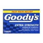 Goody -  Fast Extra Strength Powder Relieves Minor Aches And Pains 2 powders 0074684001011