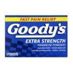Goody -  Extra Strength Headache Powders 6 powders 0074684001028