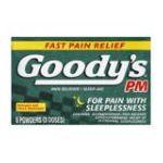 Goody -  Pain Reliever Sleep-aid 6 powders 0074684003084
