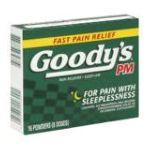 Goody -  Pain Reliever Sleep-aid 16 powders 0074684003091