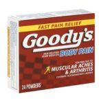 Goody -  Back & Body Pain 0074684003268