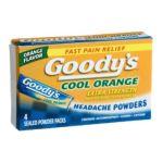 Goody -  Headache Powders 4 packs 0074684021002