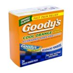 Goody -  Headache Powder Cool Orange 24 Flavor Packs 0074684021507