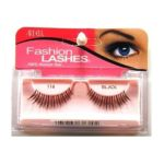 Ardell - Fashion Lashes Strip Lashes #116 Black 1 Pair Pack 4 pack 0074764616104  / UPC 074764616104