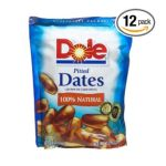 Dole - Dates Pitted 0075700045002  / UPC 075700045002