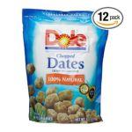 Dole - Dates Chopped 0075700045026  / UPC 075700045026
