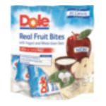 Dole - Real Fruit Bites Apple Chunks 0075700050501  / UPC 075700050501