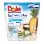 Dole - Real Fruit Bites Pineapple Chunks 0075700050518  / UPC 075700050518