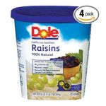Dole - Raisins California Seedless Plumper & Moister 0075700062603  / UPC 075700062603