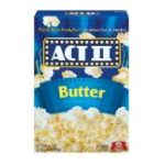 Act ii - Microwave Popcorn Butter 0076150075175  / UPC 076150075175