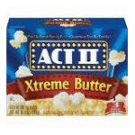 Act ii - Microwave Popcorn Xtreme Butter 0076150075441  / UPC 076150075441