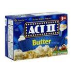 Act ii - Microwave Popcorn Butter 0076150075755  / UPC 076150075755