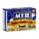 Act ii - Microwave Popcorn 0076150075779  / UPC 076150075779