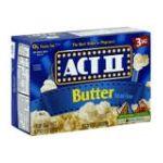 Act ii - Microwave Popcorn 0076150075809  / UPC 076150075809