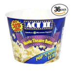 Act ii - Popcorn Movie Theatre Butter Pop 'n Serve Tub Packages In A Tub 0076150090406  / UPC 076150090406