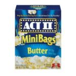 Act ii - Microwave Popcorn Butter 0076150200249  / UPC 076150200249