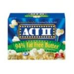Act ii - Microwave Popcorn 0076150202038  / UPC 076150202038