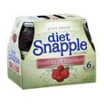 Snapple - Juice Drink Diet Cranberry Raspberry 0076183260180  / UPC 076183260180