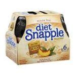 Snapple - Tea Diet Peach 0076183263570  / UPC 076183263570