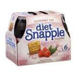 Snapple - Tea Diet Raspberry 0076183263686  / UPC 076183263686