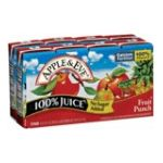 Apple & eve - 100% Juice Fruit Punch 0076301845121  / UPC 076301845121