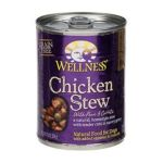Wellness -  Chicken Stew With Peas & Carrots Canned Dog Food 0076344017059