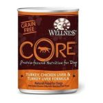 Wellness -  Core Turkey Chicken Liver & Turkey Liver Canned Dog Food 0076344079118