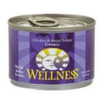 Wellness -  Chicken And Sweet Potato Canned Dog Food 0076344088240