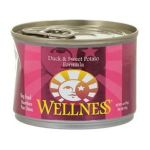 Wellness -  Duck And Sweet Potato Canned Dog Food 0076344089223