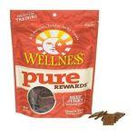Wellness -  Pure Rewards Beef Jerky Bits Dog Treats 0076344890539