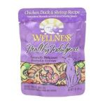 Wellness -  Healthy Indulgence Cat Pouches Chicken Duck And Shrimp Recipe 0076344890812