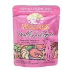 Wellness -  Adult Healthy Indulgence Salmon And Chicken Recipe Cat Food Pouches 0076344890829