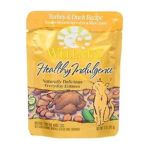 Wellness -  Adult Healthy Indulgence Turkey And Duck Recipe Cat Food Pouches 0076344890836