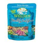 Wellness -  Healthy Indulgence Tuna Recipe Grain Free Cat Food Pouches 0076344890898