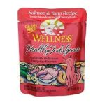 Wellness -  Healthy Indulgence Salmon & Tuna Recipe Grain Free Cat Food Pouches 0076344890904