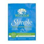 Wellness -  Simple Solutions Rice & Lamb Dry Dog Food 0076344893110