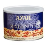 Azar foodservice - Company Mixed Nuts Extra Fancy No Peanuts Can 2.38 lb 0076500700412  / UPC 076500700412