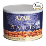 Azar foodservice - Company Peanuts Honey Roasted Cans 2.38 lb 0076500701532  / UPC 076500701532