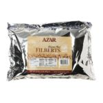 Azar foodservice - Company Filbert Hazelnuts Whole Blanched Raw Resealable Bag 0076500711333  / UPC 076500711333