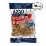 Azar foodservice - Company Sunflower Kernals Oil Roasted Unsalted Bags 0076500721110  / UPC 076500721110