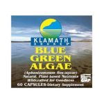 American health - Klamath Shores Blue Green Algae 60 capsule 0076630025409  / UPC 076630025409