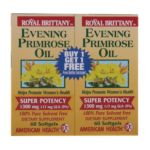 American health - Royal Brittany Evening Primrose Oil Twin Pack 1 300 mg,120 count 0076630032315  / UPC 076630032315